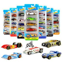 Hot Wheels 5li Araba Seti