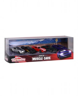 Majorette Muscle Cars 5 Li Set
