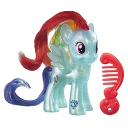 My Little Pony Karakter Figürleri - Pretzel ve Rainbow Dash