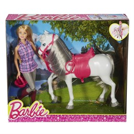 Mattel Barbie ve Atı DHB68