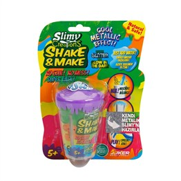 Slimy Creation Kendi Metalik Slimynı Yarat 8 gr Slime